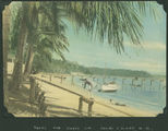 Picture relating to Palm Islands - titled 'On the beach at Palm Island in North Queensland'