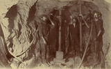 Picture relating to Mount Morgan - titled 'Miners working underground in the Mount Morgan Mine, 1903'