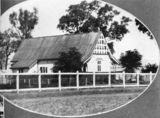 Picture relating to Charleville - titled 'All Saints Chapel, known as the Bush Brotherhood, Charleville, 1933'