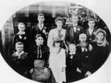 Picture of / about 'Dalveen' Queensland - Turner family from Dalveen on the Darling Downs, 1900