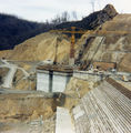 Picture relating to Tullah - titled 'Reece Dam under construction'