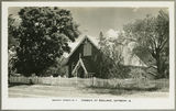 Picture relating to Gayndah - titled 'Anglican church in Gayndah, ca. 1955'