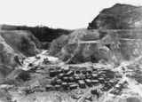 Picture of / about 'Mount Isa' Queensland - Early open cut mine at Mount Isa, May, 1902