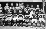 Picture relating to Texas - titled 'Members of the Texas State School Football Club, ca. 1905'