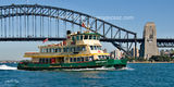 Picture of / about 'Sydney' New South Wales - The BORROWDALE  Ferry on Sydney Harbour.
