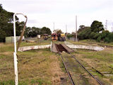 Picture relating to Korumburra - titled 'The Turntable South Gippsland Railway Korumburra'