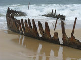 Picture relating to Dicky Beach - titled 'SS Dicky Wreck'