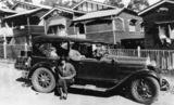 Picture of / about 'Linthorpe' Queensland - McLeod family off on holiday in the Essex tourer, Linthorpe, ca.1930