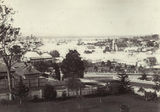 Picture relating to Ipswich - titled 'Panoramic view of the flooded town of Ipswich, 1893'
