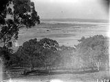 Picture relating to Kingston - titled 'Panorama from Red Hill to Kingston Power Station, see1359.'