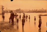 Picture relating to Woolloongabba - titled 'Logan Road at Woolloongabba, Brisbane, during the 1890 flood'