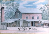 Avenel John Pratts flour mill block of Livingstone & Shelton Sts - destroyed by fire - same as image of the colour residence