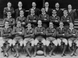 Picture relating to Sydney - titled 'Australian Rugby League Team (Kangaroos), ca. 1930'