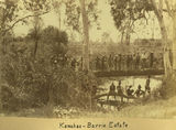 Picture relating to Mackay - titled 'Kanakas on the Barrie Estate'