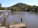 Picture relating to Woronora - titled 'Woronora River at Woronora 8'