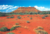 Picture relating to Chichester Range - titled 'Mesa in the Pilbara'