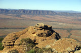 Picture relating to Chichester Range - titled 'View from Rawnsley Bluff SA'