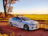 Picture relating to West Wyalong - titled 'Griffith Highway Patrol'