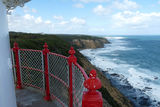 Picture relating to Point Franklin - titled 'Towards Point Franklin from the Cape Otway Lighthouse'