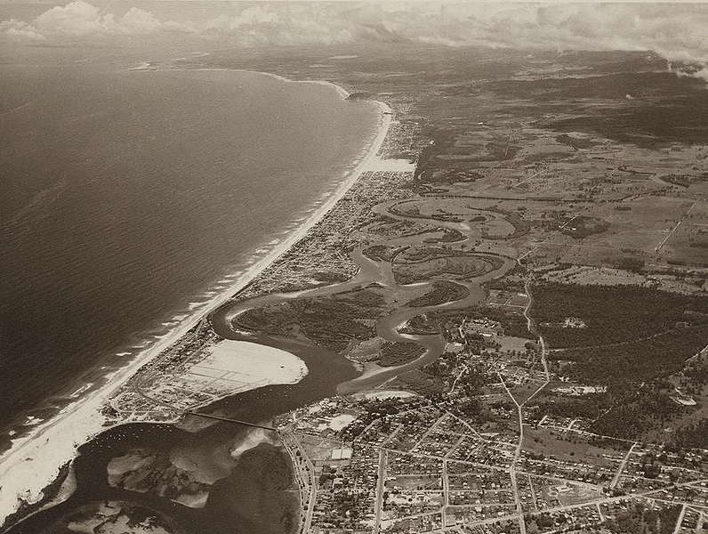 Pictures of Australian Cities, Towns and Villages from 1952