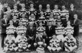Picture relating to Maryborough - titled 'Patriot Rugby League Football Club from Maryborough, ca. 1927'
