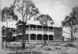 Picture relating to Charters Towers - titled 'ChartersTowers hospital, ca. 1888'