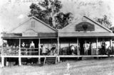 Picture relating to Kilcoy - titled 'William Bradley's store at Kilcoy, ca. 1900'
