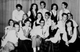 Picture relating to Queensland - titled 'Latvian dance group, 'Senatne', 1951'