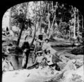 Picture relating to Enoggera - titled 'Group portrait at Enoggera Creek'