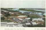 Picture relating to Bundaberg - titled 'View over the town looking east from the post office, Bundaberg, ca. 1914'