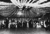 Picture relating to Cloncurry - titled 'Guests at the Police Ball and wedding at Cloncurry, Queensland, 1938'
