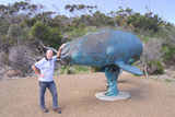 Picture relating to Cockle Creek - titled 'The Whale sculpture'