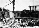 Picture relating to Acton - titled 'Australian Institute of Anatomy under construction, McCoy Circle, Acton.'