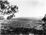 Picture relating to Anzac Parade - titled 'View along Anzac Parade to Old Parliament House from Mt Ainslie'
