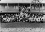 Picture relating to Longreach - titled 'Students from Longreach State School, Queensland, ca. 1902'