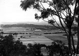 Picture relating to Ainslie - titled 'View from Mt Ainslie showing Anzac Park'