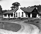 Picture relating to Parkes - titled 'Oakley and Parkes house, 18 Mugga Way, Red Hill, built by John Deans.'