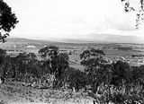 Picture relating to Reid - titled 'View of Reid and Old Parliament House from Mt Ainslie'