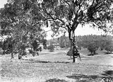 Picture relating to Yarralumla - titled 'Various views from and around the site for the American Embassy, Moonah Place Yarralumla.'