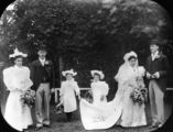 Picture relating to Queensland - titled 'Double wedding ca. 1893'