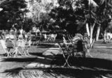 Picture relating to Mary Kathleen - titled 'Beer garden at Mary Kathleen, 1961'