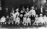 Picture relating to Limpinwood - titled 'Students of Limpinwood Public School, 1917'