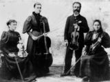 Picture relating to Queensland - titled 'Jefferies family of musicians'