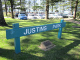 Picture relating to Burleigh Heads - titled 'Burleigh Heads - Justin park'