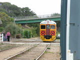 Picture relating to Goolwa - titled 'Number 428 Train Coming into Goolwa Railway Station'