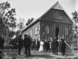 Picture relating to Kerry - titled 'St John's Catholic Church , Kerry, Queensland, ca. 1907'