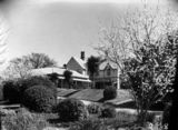 Picture of / about 'Duntroon' the Australian Capital Territory - View of the garden from the Officers' Mess, Duntroon House.