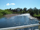 Picture relating to Murray River - titled 'Murray River at the Murray Valley Highway bridge'