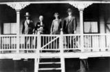 Picture relating to Carpendale - titled 'Leveldoski family on the verandah of their home'