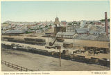 Picture relating to Charters Towers - titled 'View from the Phoebe Mine looking towards the centre of town, Charters Towers, 1904'